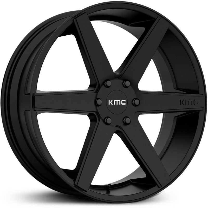 KMC KM704 District Truck  Wheels Satin Black