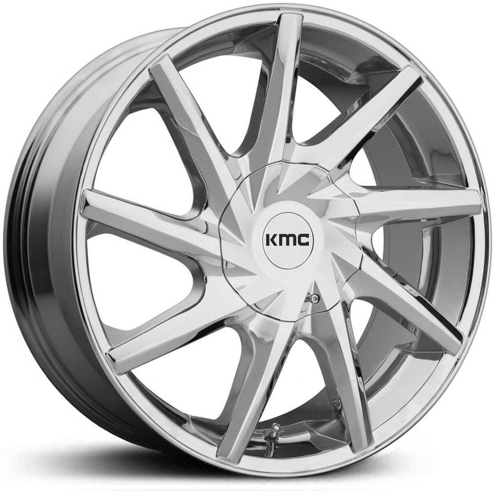 KMC KM705 Burst  Wheels Chrome