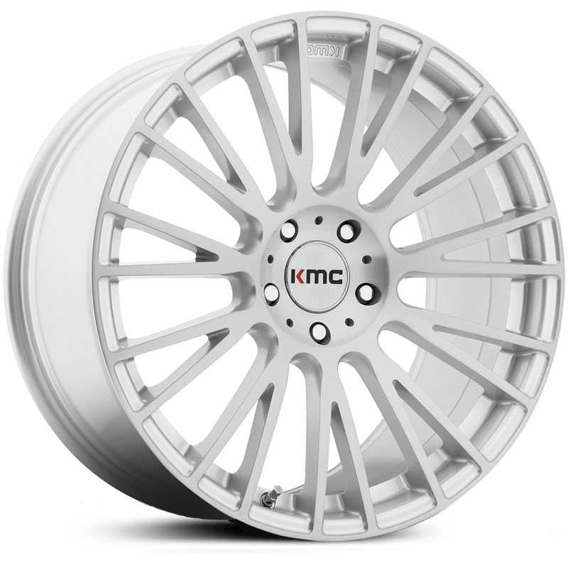 KMC KM706 Impact   Wheels Brushed Silver