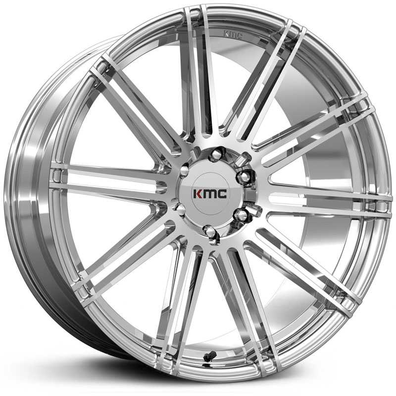 KMC KM707 Channel   Wheels Chrome