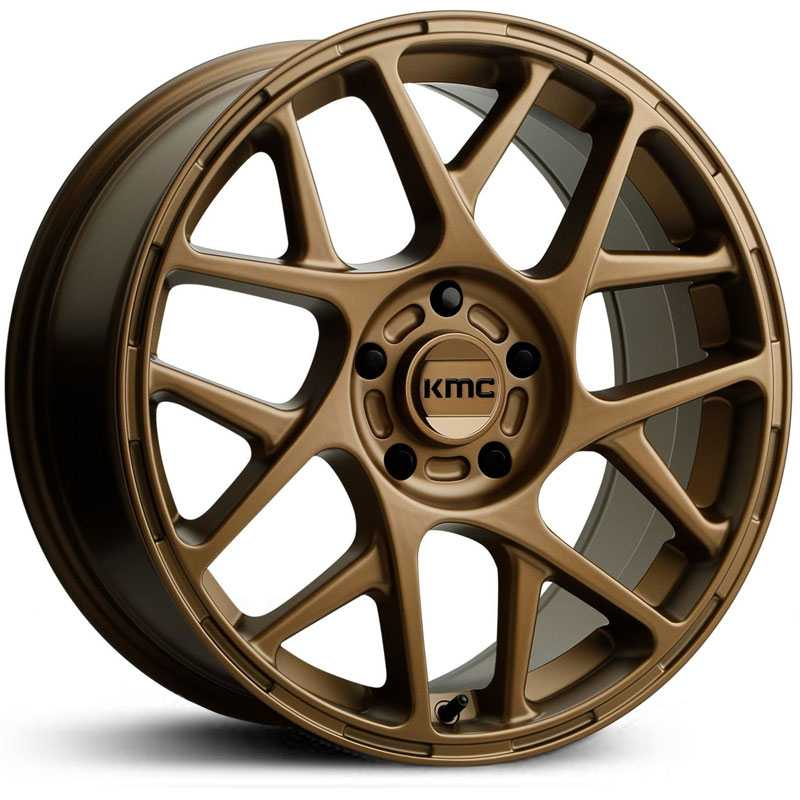 KMC KM708 Bully  Wheels Matte Bronze