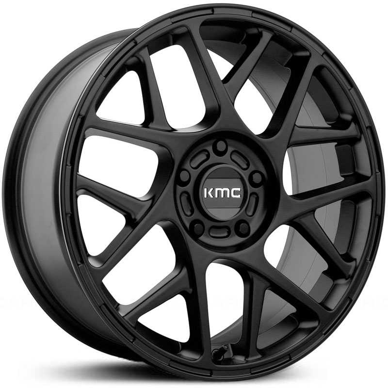 KMC KM708 Bully  Wheels Satin Black