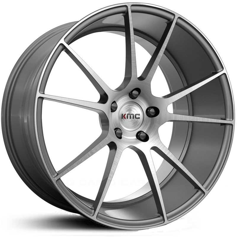 KMC KM709 Flux  Wheels Brushed Silver