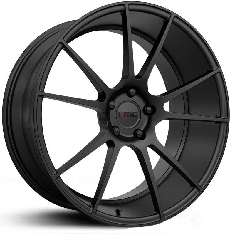 KMC KM709 Flux  Wheels Satin Black