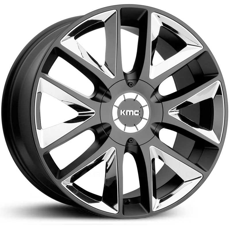 KMC KM710 Takedown  Wheels Satin Black