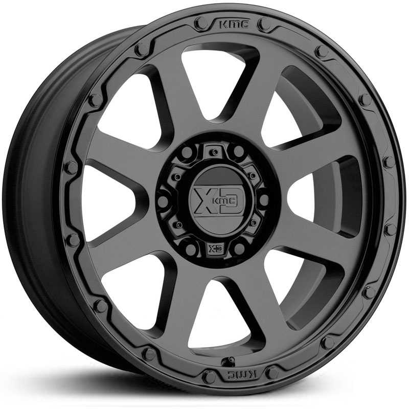 XD Series XD134 Addict 2  Wheels Matte Black
