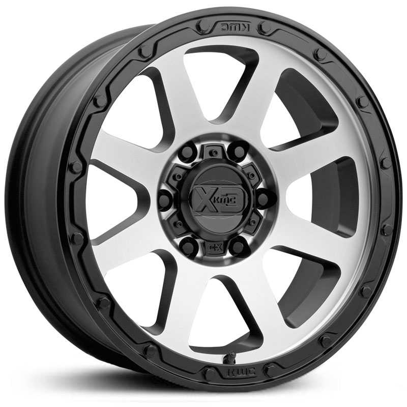 XD Series XD134 Addict 2  Wheels Matte Black Machined