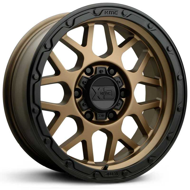 XD135 Grenade Off-Road Matte Bronze Matte Black Lip