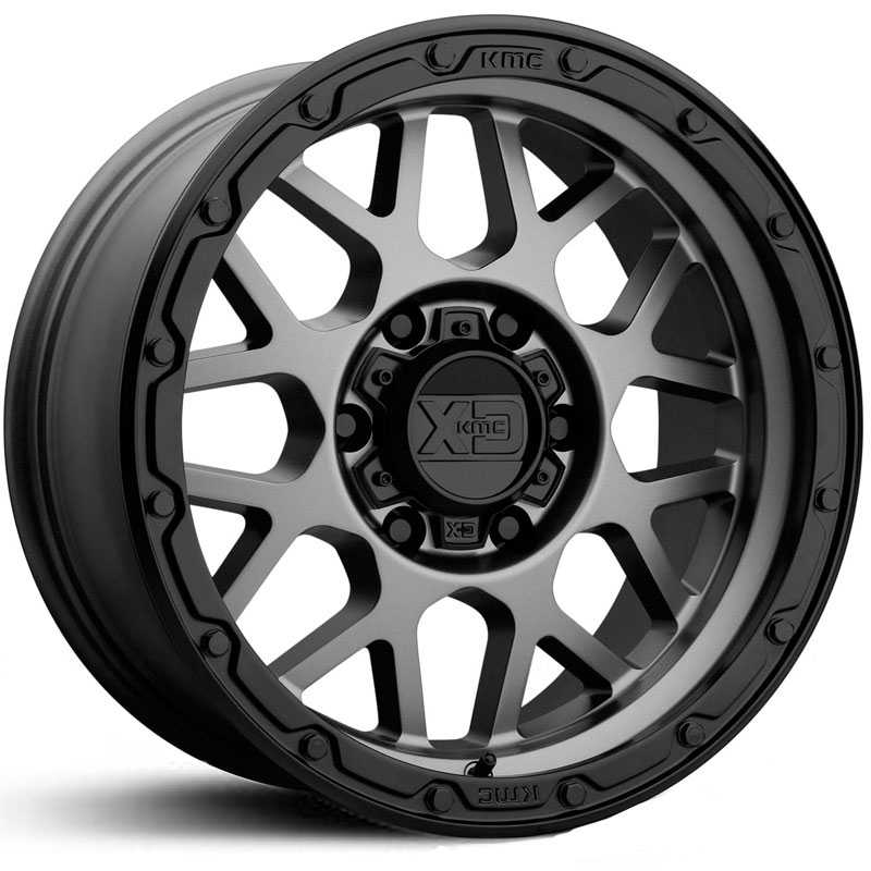 XD Series XD135 Grenade Off-Road Matte Grey Matte Black Lip