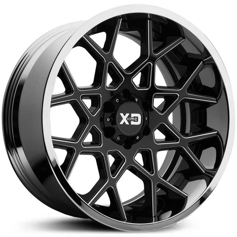 XD203 Chopstix Two-Piece Gloss Black w/ Chrome Lip