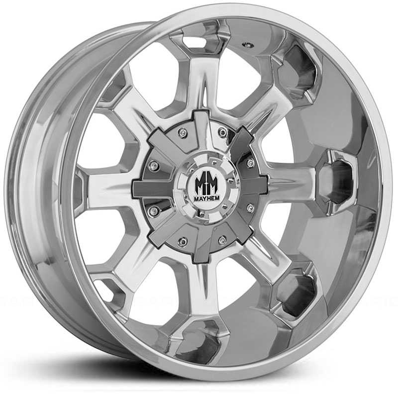 18x9 Mayhem Combat 8105 Chrome MID