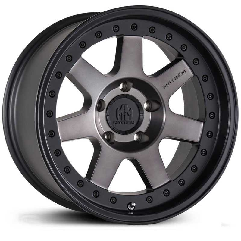 Mayhem Prodigy 8300  Wheels Matte Black Dark Tint