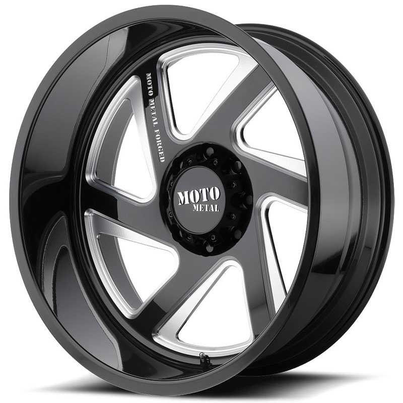MO400 Gloss Black Milled