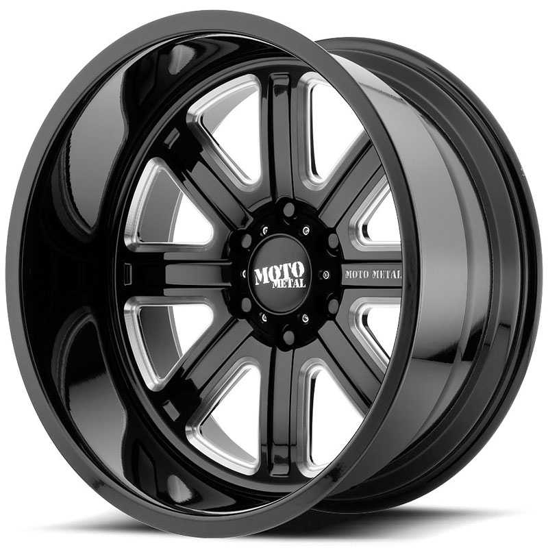 MO402 Gloss Black Milled