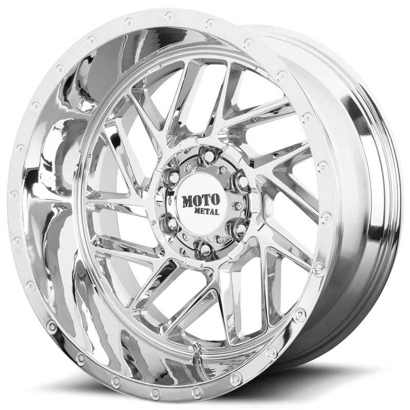 Moto Metal MO985 Breakout  Wheels Chrome