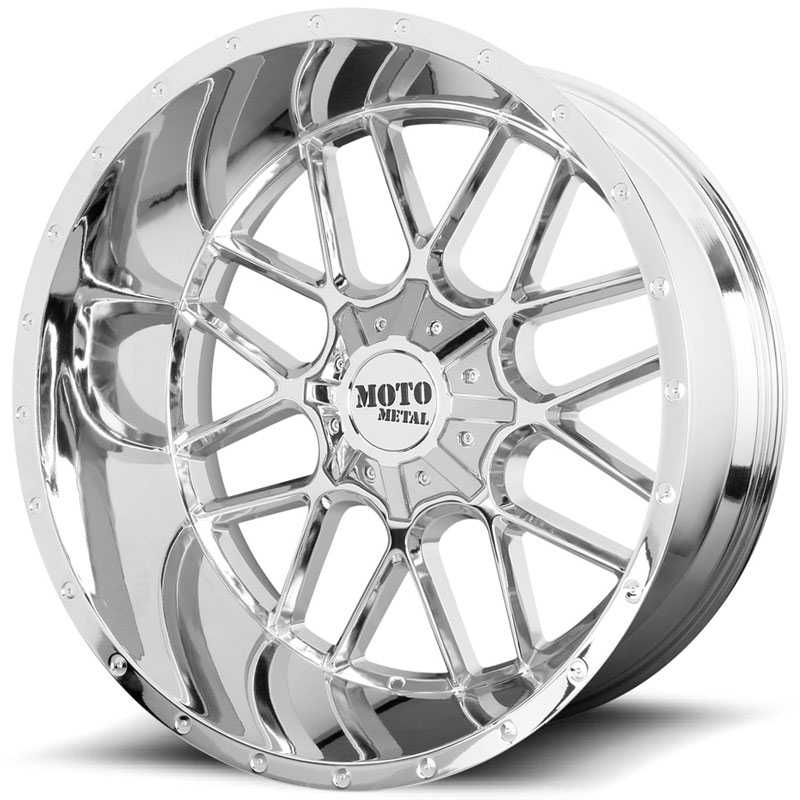 Moto Metal MO986 Siege  Wheels Chrome