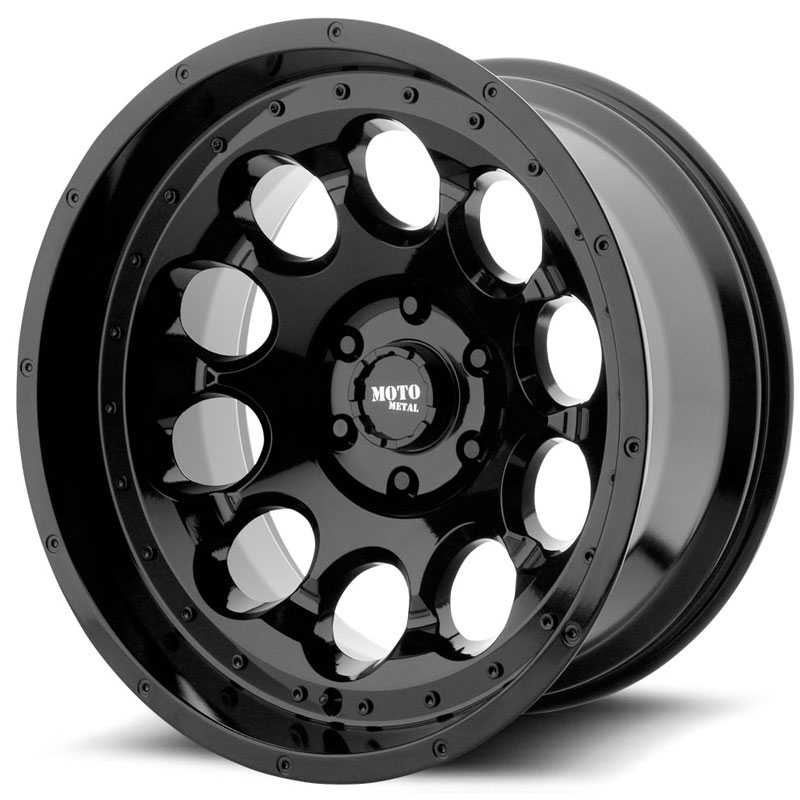 Moto Metal MO990 Rotary Gloss Black