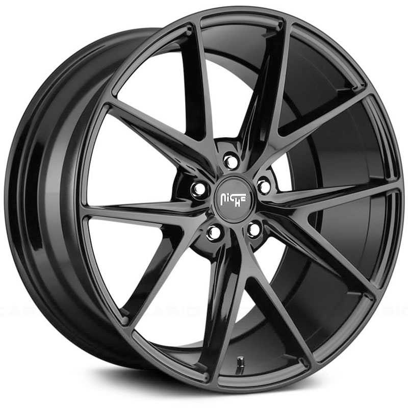 Niche M119 Misano  Wheels Gloss Black