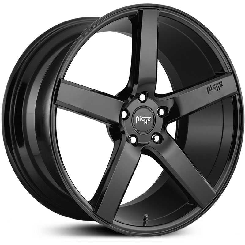 Niche M188 Milan  Wheels Gloss Black
