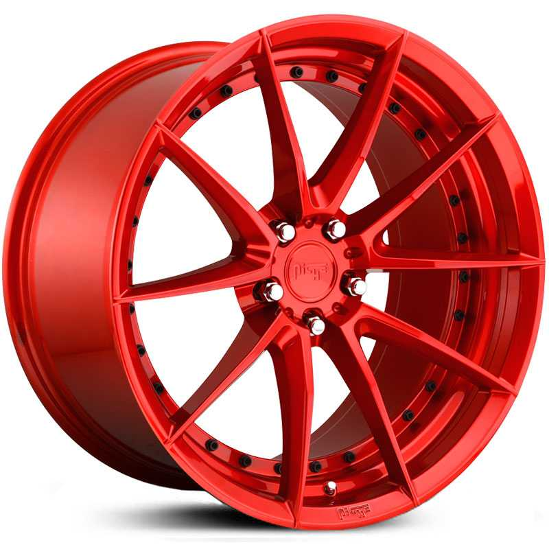 Niche M213 Sector  Wheels Candy Red