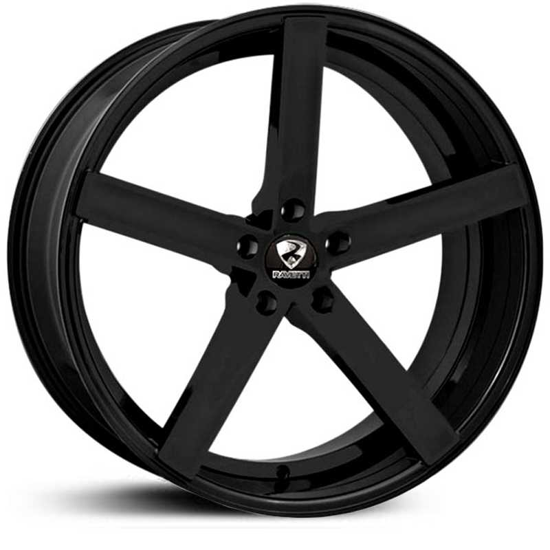 Ravetti Model 1  Wheels Gloss Black