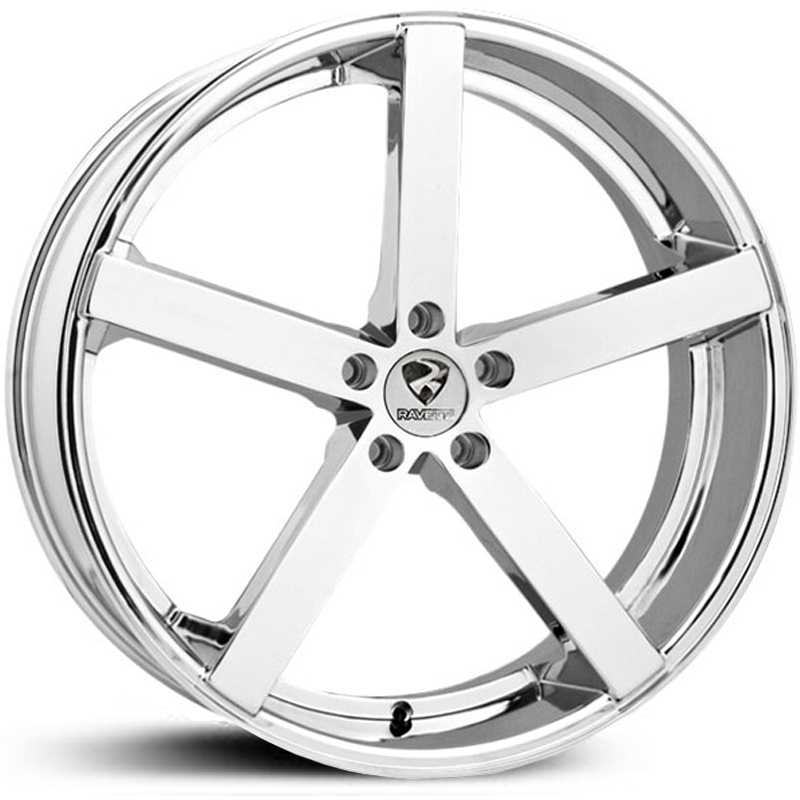 Ravetti Model 2  Wheels Chrome