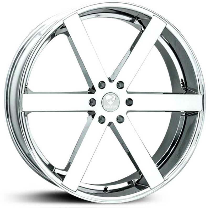 Ravetti Model 4  Wheels Chrome