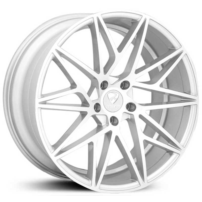 Ravetti Model 5  Wheels Silver Machined Face