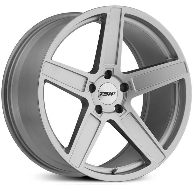 TSW Ascent  Wheels Matte Titanium Silver