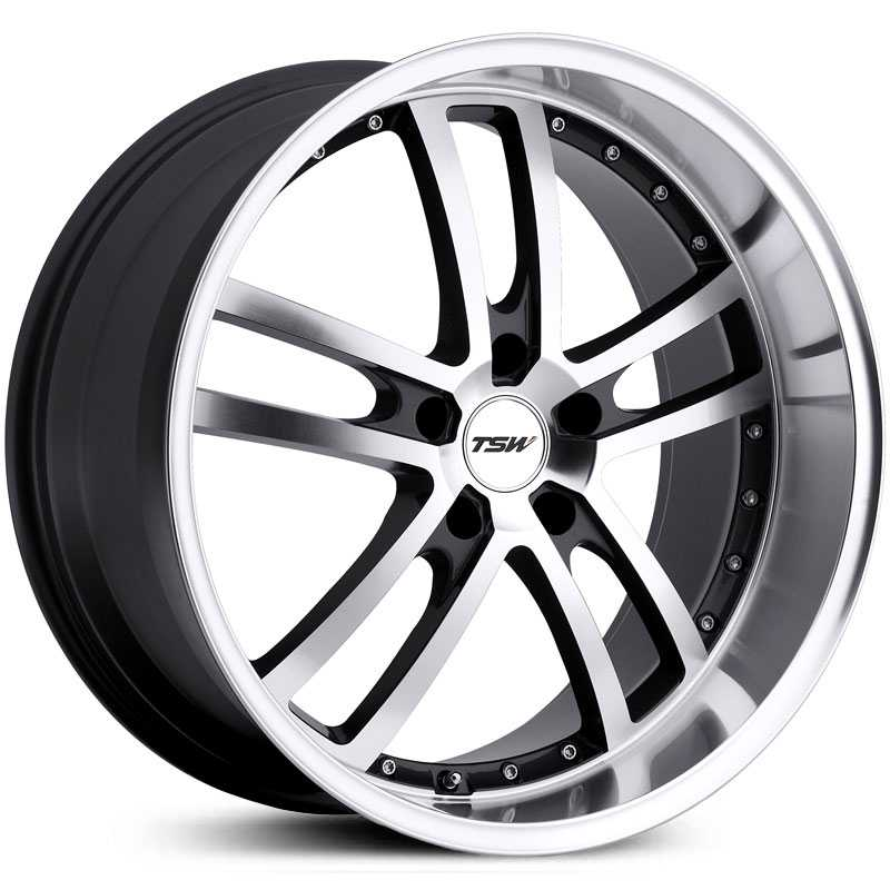 TSW Cadwell  Wheels Gunmetal Mirror Cut Face/Lip