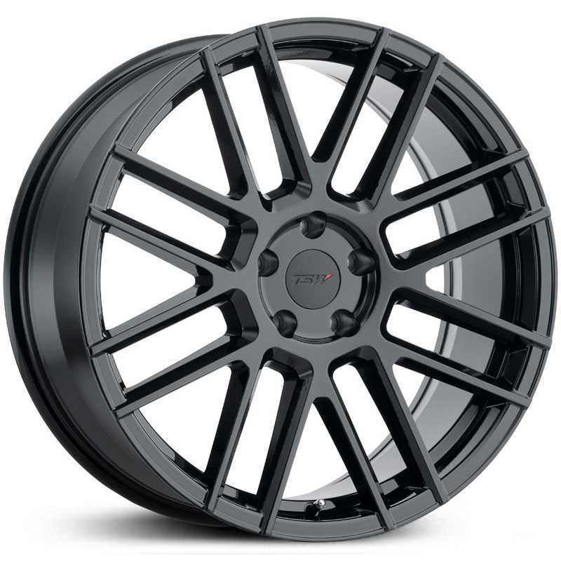 TSW Mosport  Wheels Gloss Black