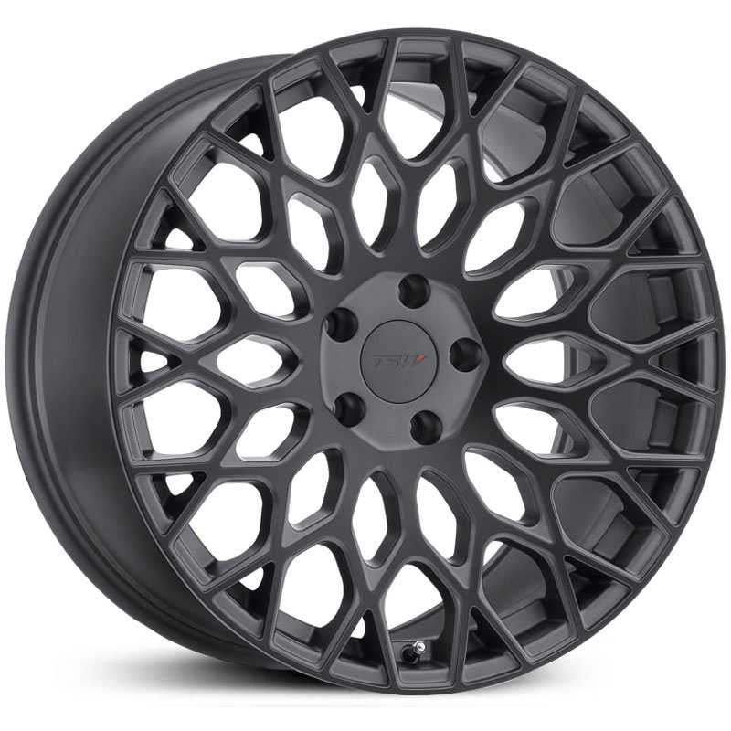TSW Oslo  Wheels Matte Gunmetal w/ Matte Black Face