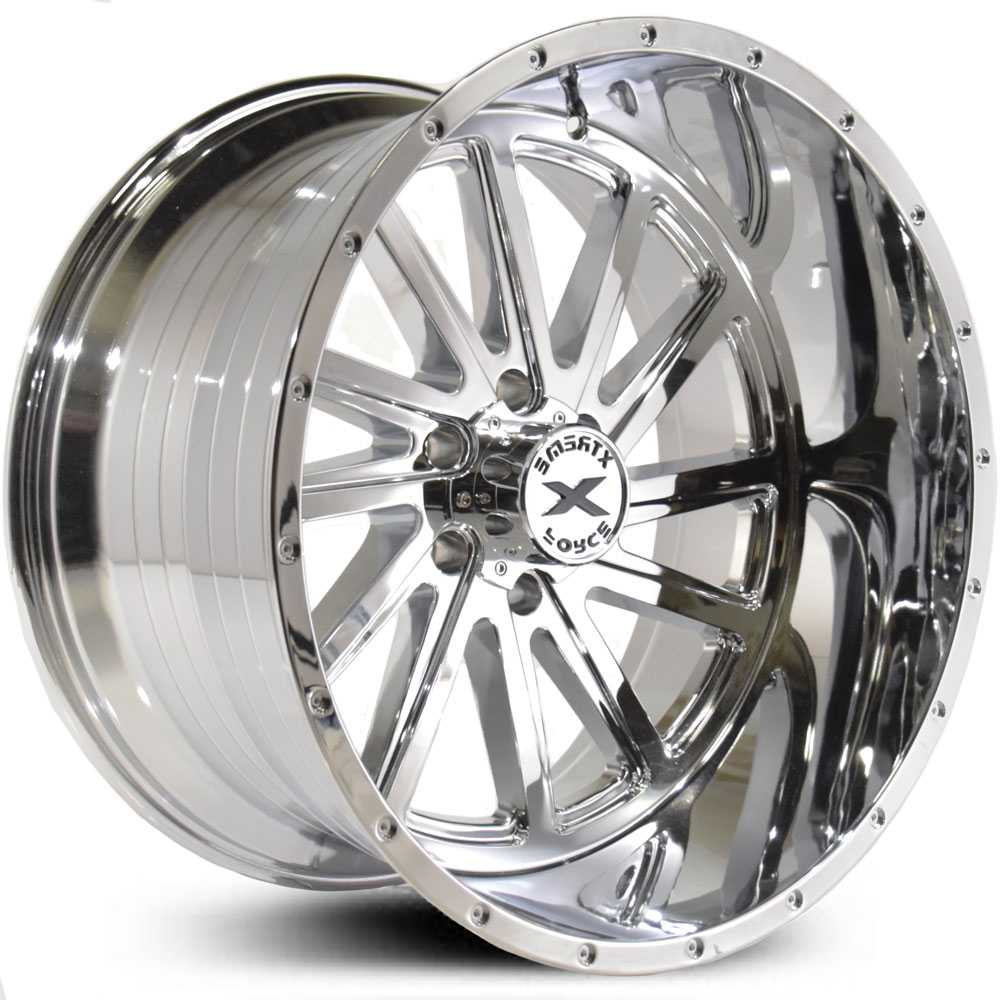 Xtreme Force XF-3  Wheels Chrome