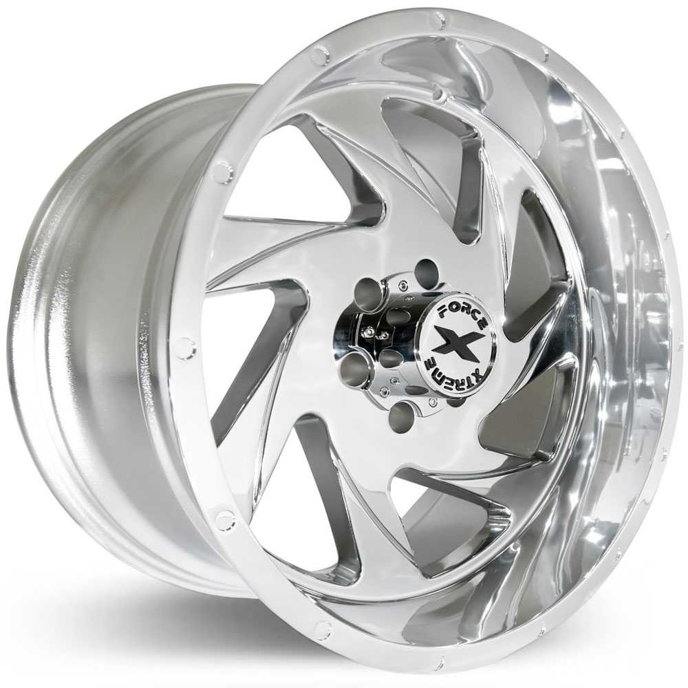 Xtreme Force XF-7  Wheels Chrome