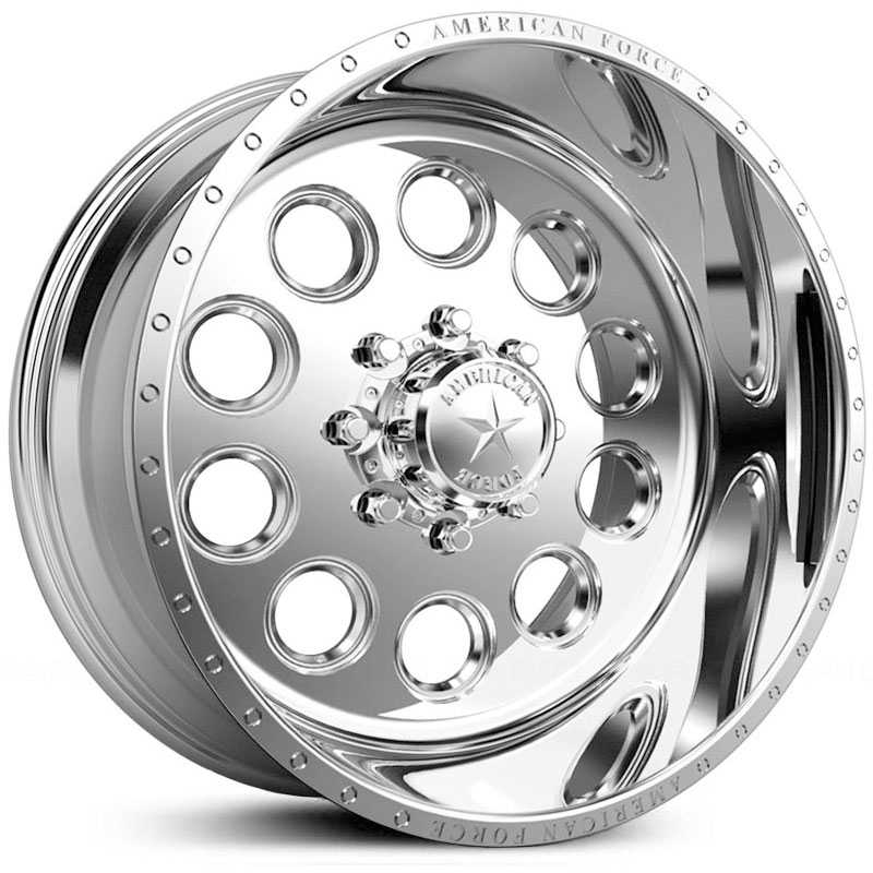 American Force Big Ten SS5  Wheels Mirror Finish Polish