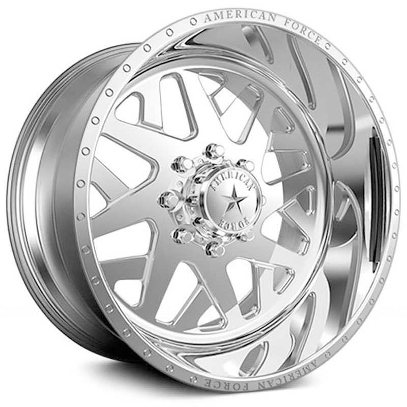 22x11 American Force Wheels Chopper SS6 Mirror Finish Polish RWD