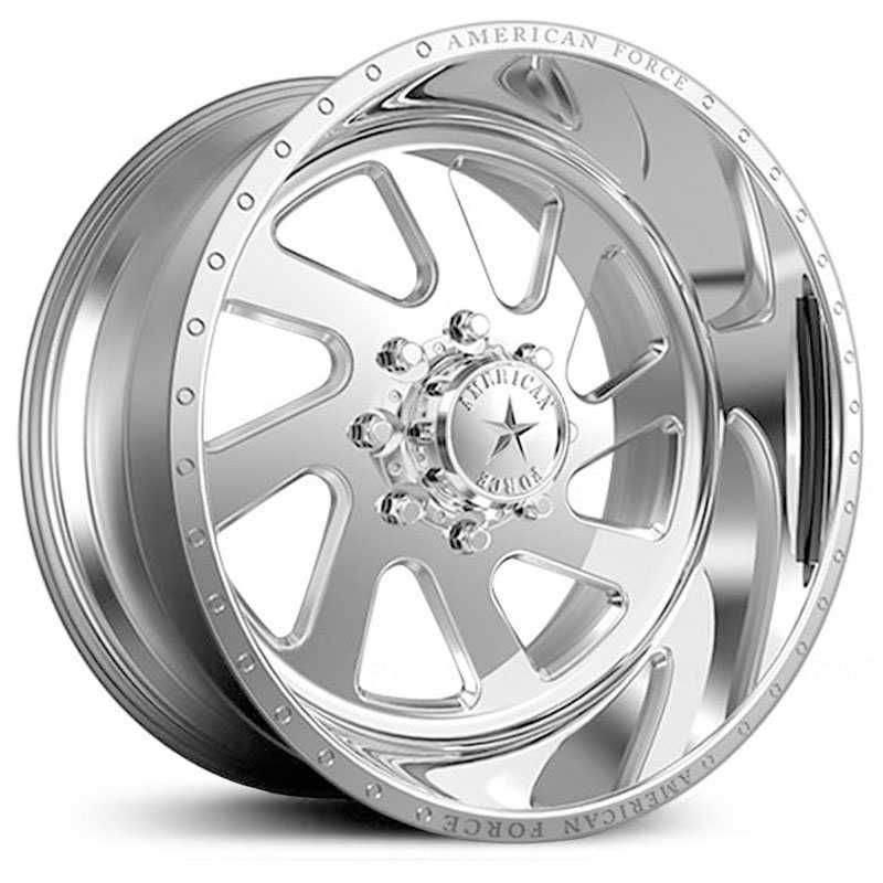 American Force Power SS6  Wheels Mirror Finish Polish