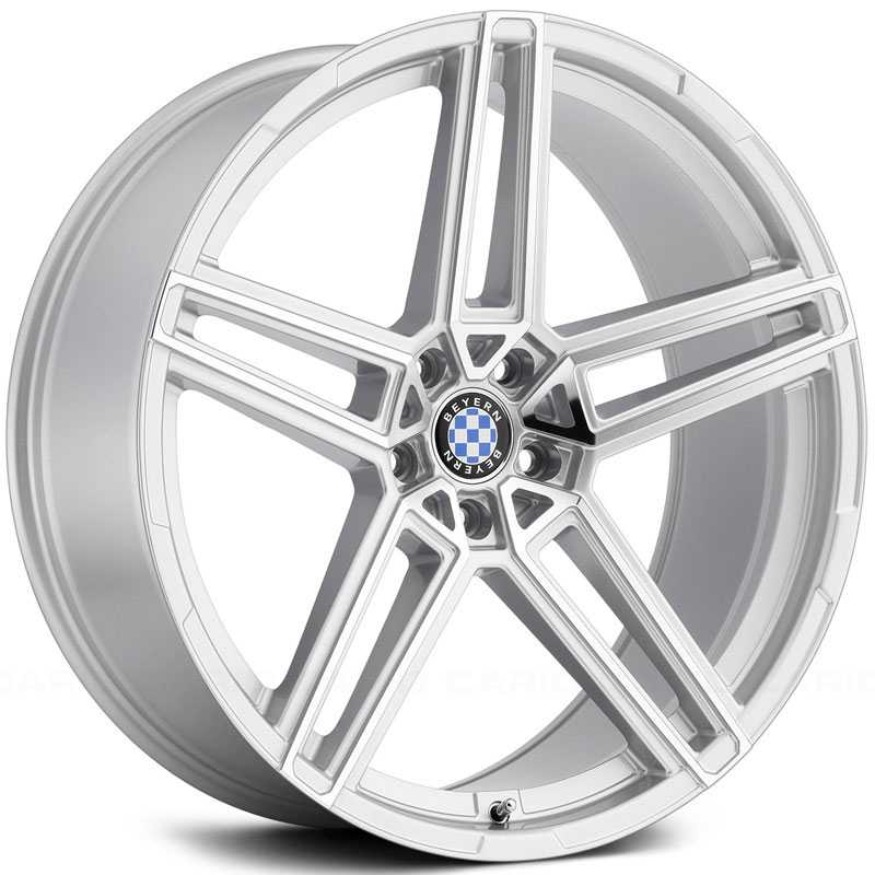 Beyern Gerade  Wheels Silver w/ Mirror Cut Face