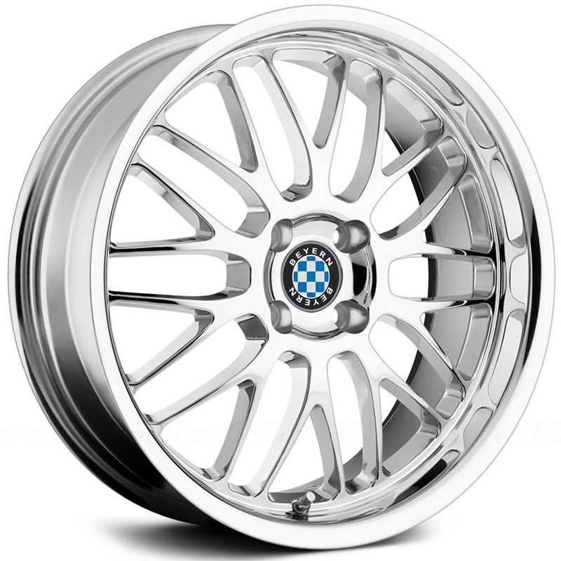 Beyern Mesh  Wheels Chrome