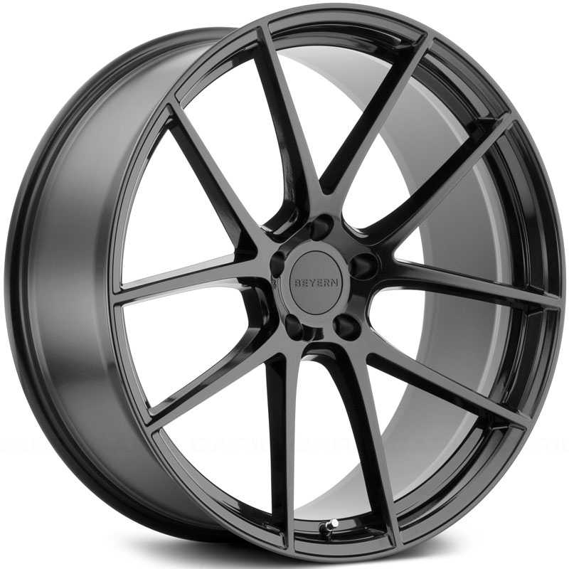 Beyern Ritz  Wheels Matte Black