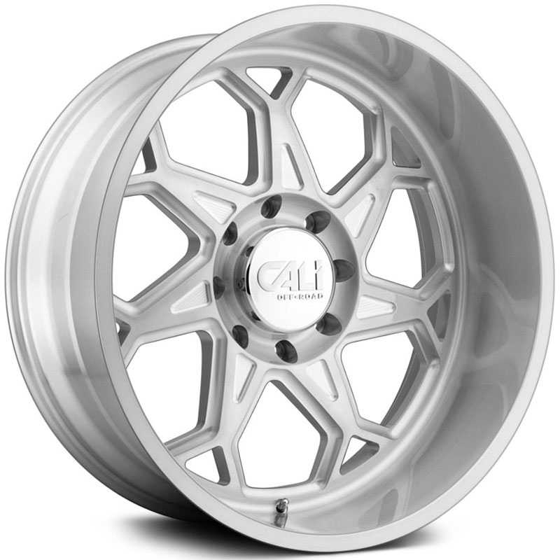 Cali Off-Road Sevenfold 9111  Wheels Brushed & Clear Coated