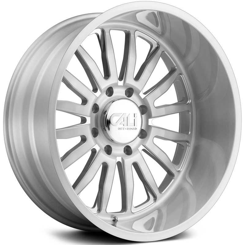 Cali Off-Road Summit 9110  Wheels Brushed & Clear Coated
