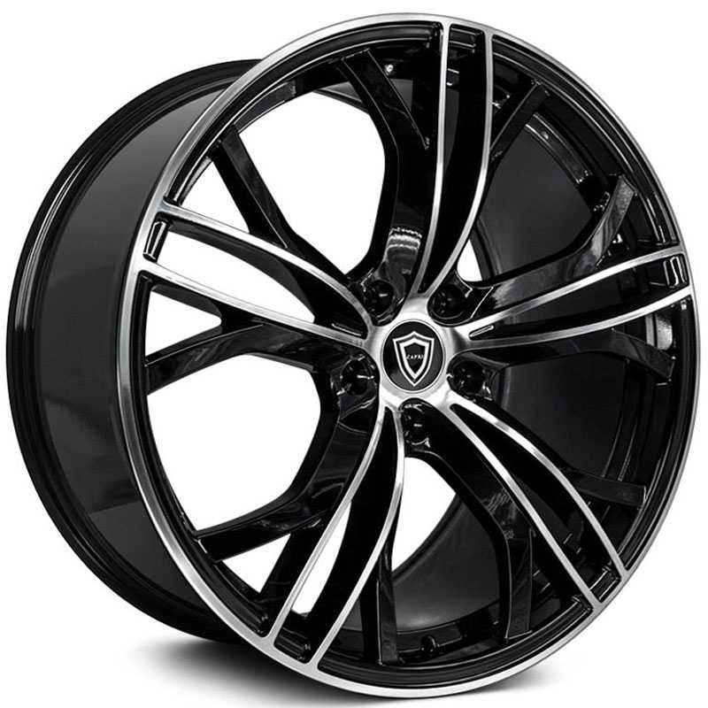 Capri Luxury Capri C5189  Wheels Gloss Black Machine