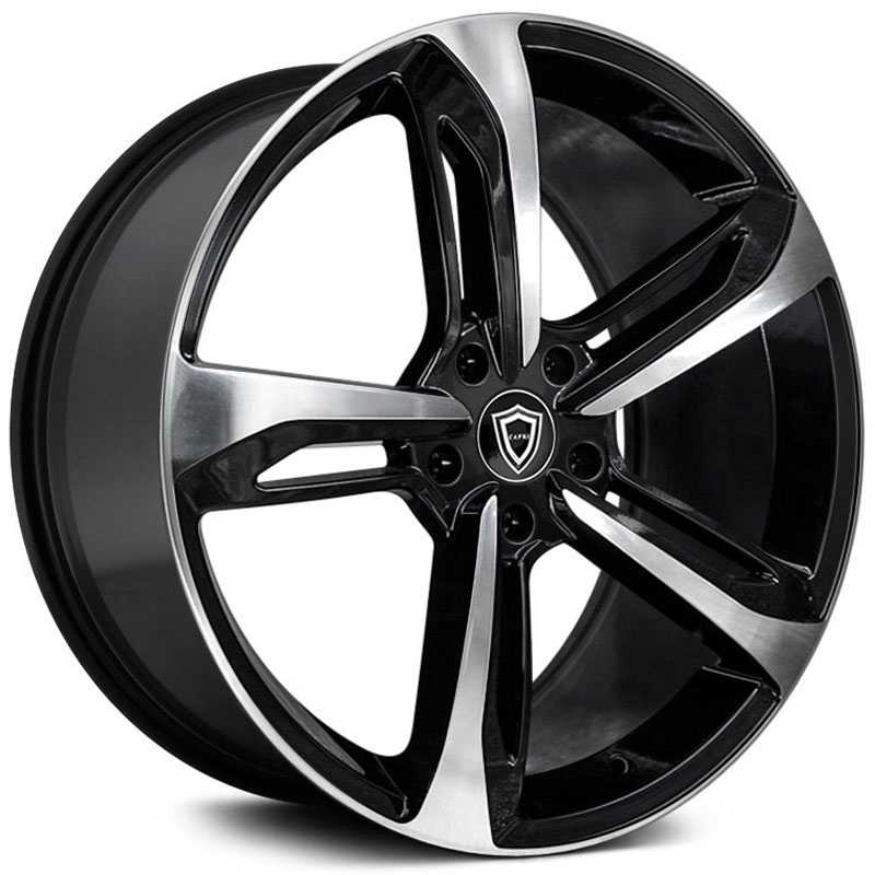 Capri Luxury Capri C5191  Wheels Gloss Black Machine