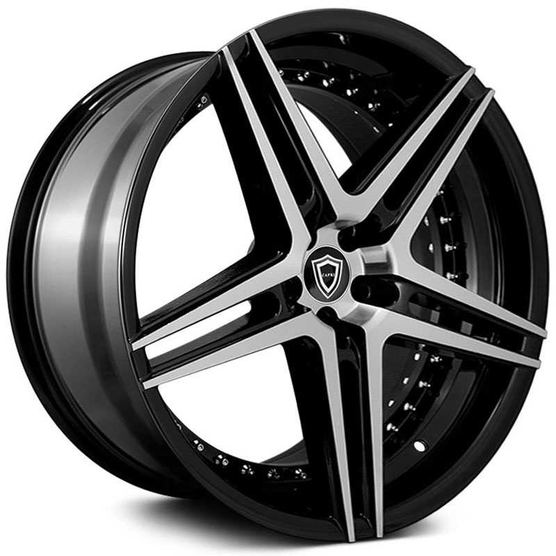Capri Luxury Capri C5260  Wheels Gloss Black Machine