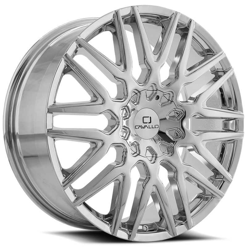 Cavallo CLV-24  Wheels Chrome