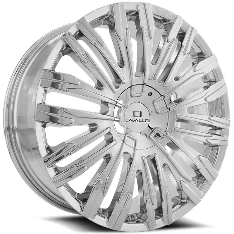 Cavallo CLV-28  Wheels Chrome