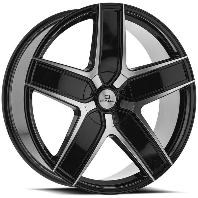 Cavallo CLV-31  Wheels Gloss Black Machined