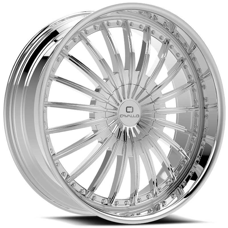Cavallo CLV-32  Wheels Chrome
