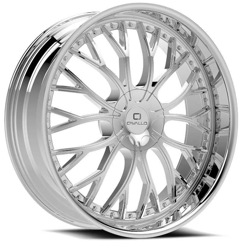 Cavallo CLV-33  Wheels Chrome